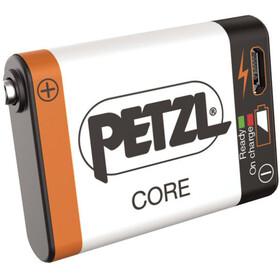 Petzl Core - orange/blanc